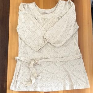 Belted H&M blouse
